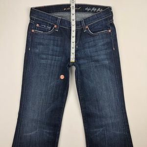 7 for all Mankind Jeans - 7 for all mankind dojo flare leg jean 26x30.5